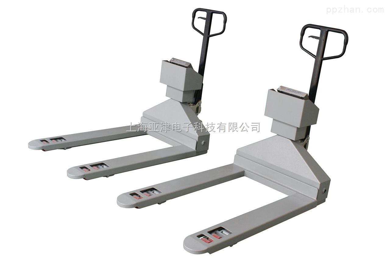 【亚津】不锈钢叉车秤 不锈钢电子叉车秤 带打印电子叉车秤